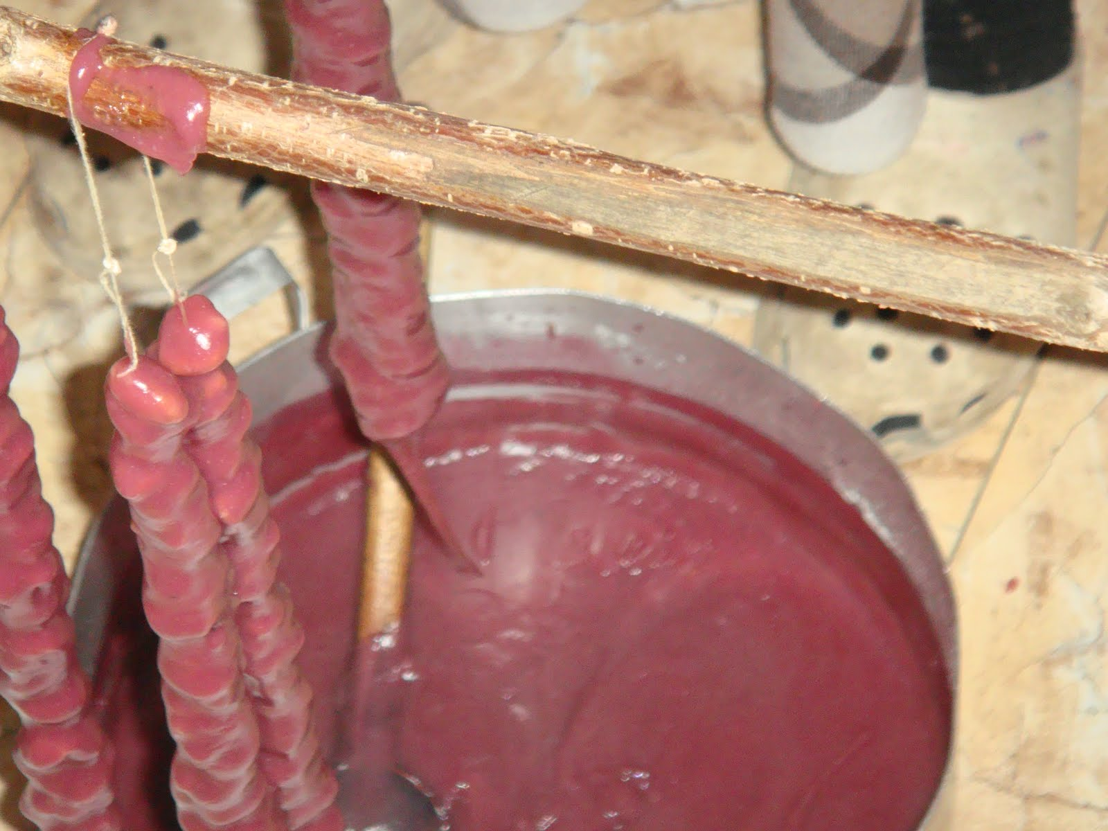 Churchkhela Preparation
