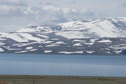 Paravani Lake in Javakheti Region
