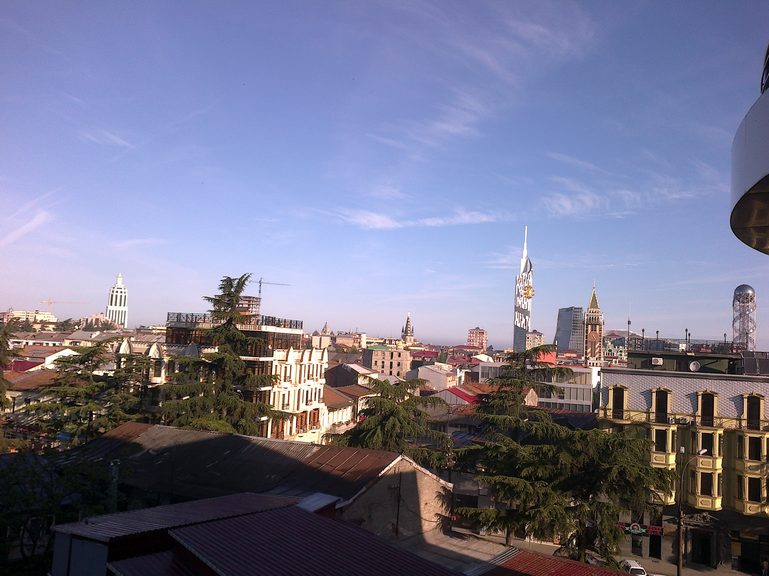 View on Batumi