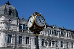 Clock in Batumi
