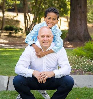 Evan & Dad