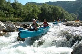 Canoe Ardeche gorge