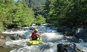 Kayaking Ardeche gorge
