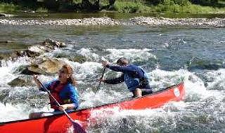 Canoe the Ardeche gorge