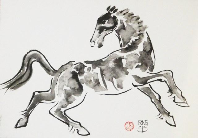 Cavalo Galopando - AR 0737