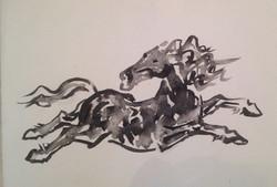Cavalo Correndo - AR 0735