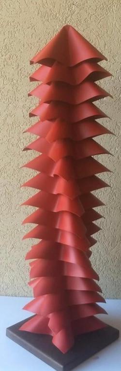 Totem  Torção Oriental Vermelha - AR 2466