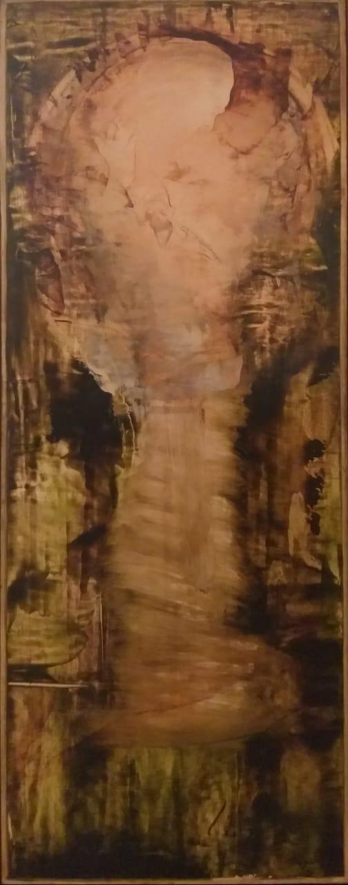 Deus em Ocre e Verde - AR 2326