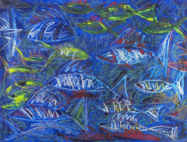 120 X 160 - Blue - Ast - Leslie Amaral A