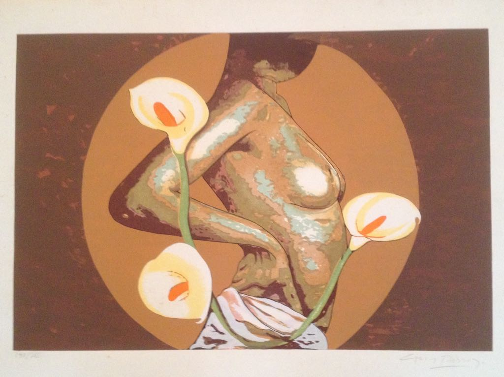 50 x 70 140-200 - Gravura - Carlos Passo