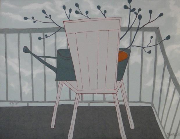 Regador sobre Cadeira - AR 0760