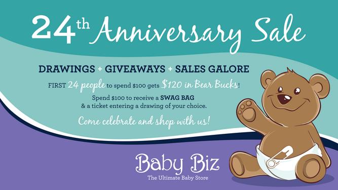 24th Anniversary Sale