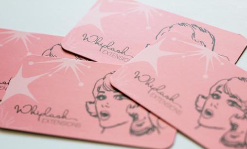 Whiplash Business Cards