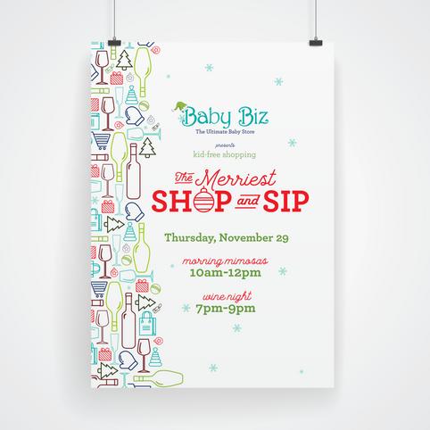 The Merriest Shop & Sip