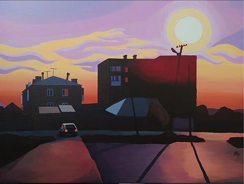 Антон Куприянов, Sunset in the city center