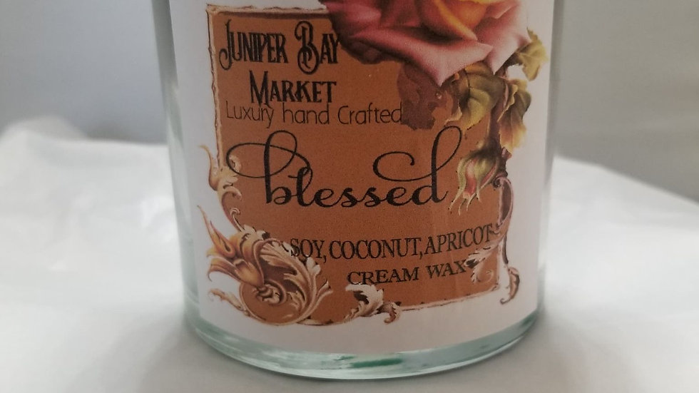 8oz Blessed Candle