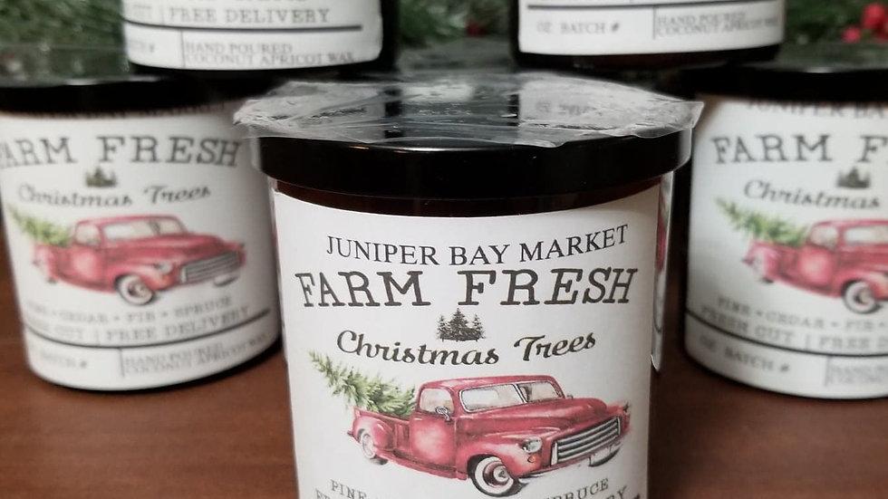 Farm Fresh Christmas Candle
