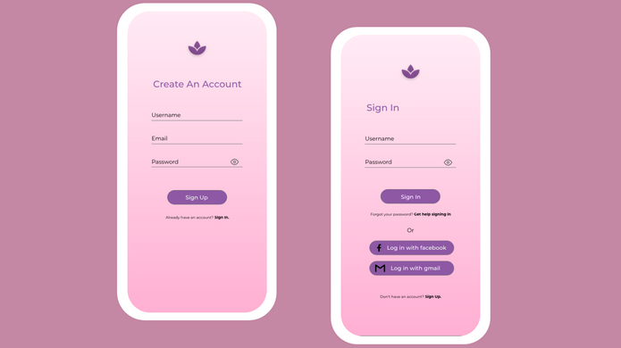 Day 1 - Sign Up Page