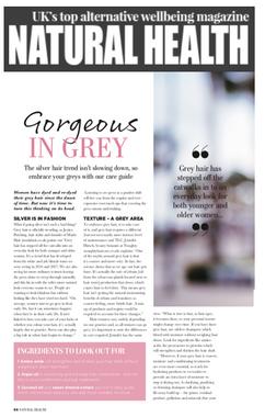 Marla in Natural Health Magazine