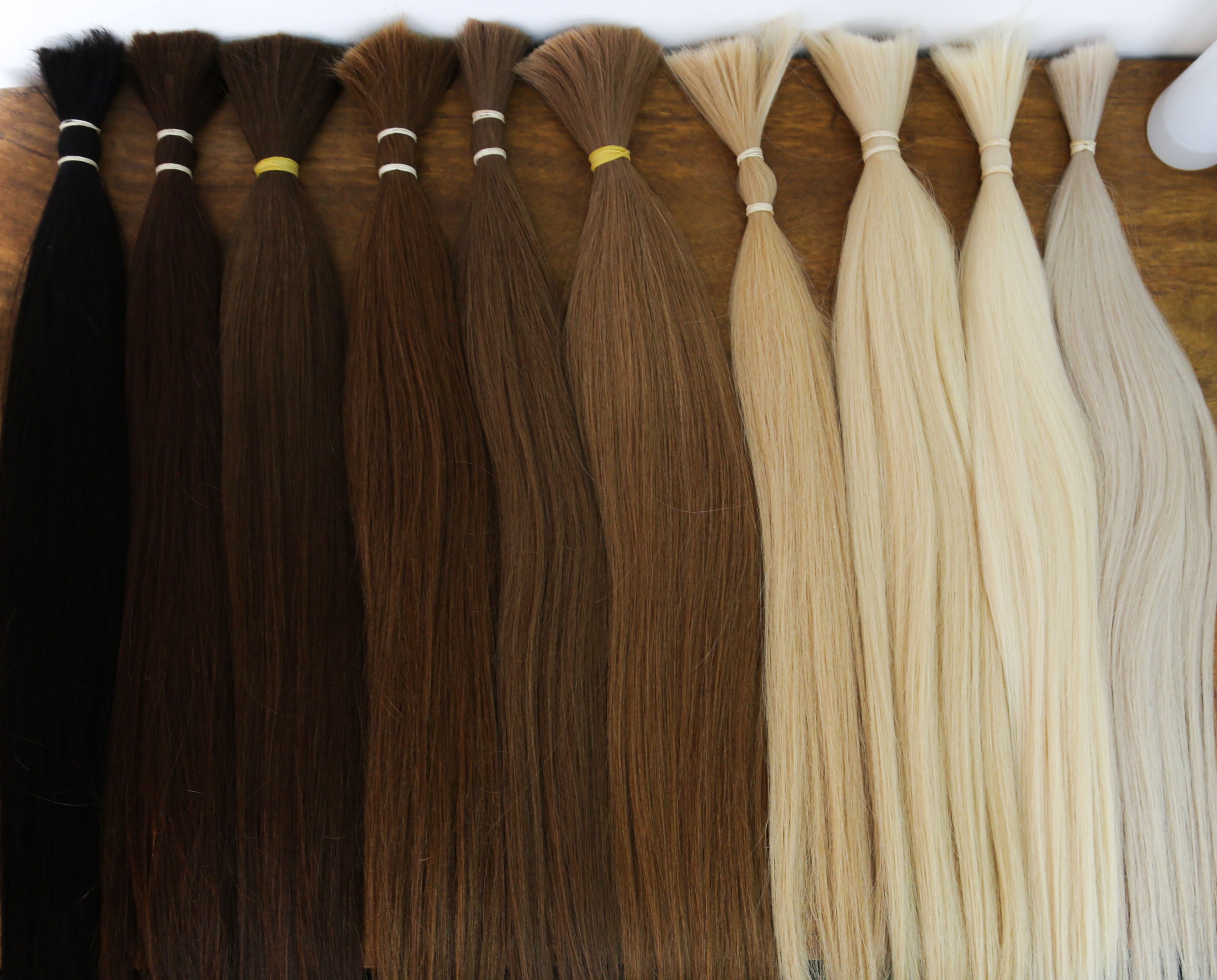 Beautiful natural hair extensions