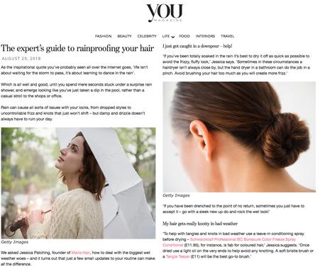 Marla in You Magazine