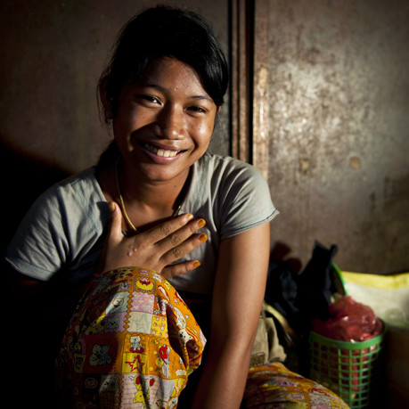 How does my donation to WGB help empower young girls in south-east Asia?