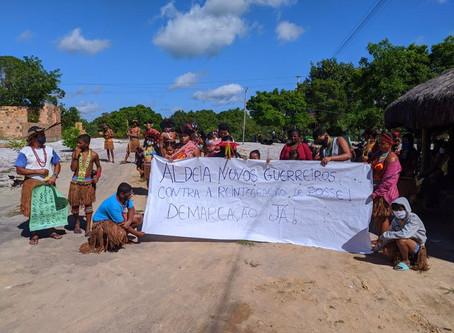 Nota de solidariedade ao povo Pataxó e de denúncia a violação de direitos