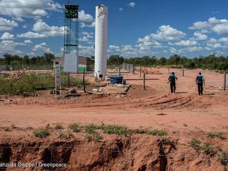Segurança da Fazenda Estrondo invade território e atira contra geraizeiros em Formosa do Rio Preto