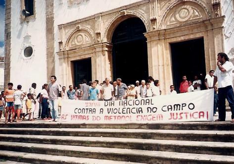 Dia Nacional contra a violência no Campo