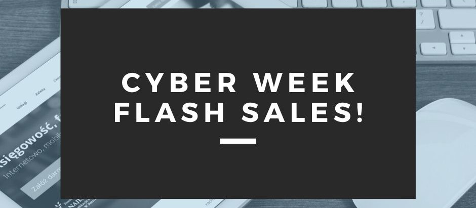 Cyber Week + Black Friday