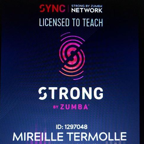 Strong by Zumba licentie is binnen!