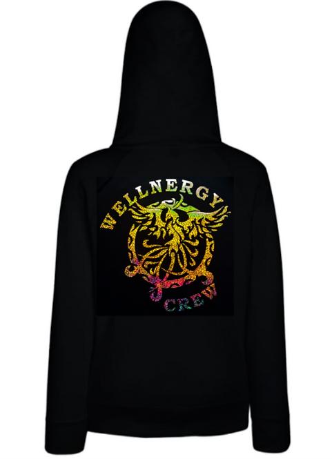 Wellnergy Crew hoodie met rits