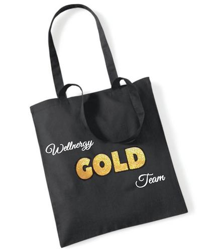 Wellnergy Gold Tote bag - BIO KATOEN