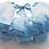 Thumbnail: Blauw tule rokje