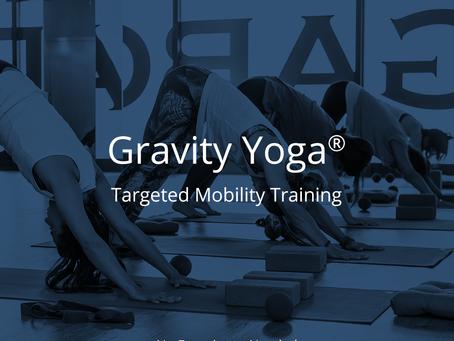 Gravity yoga lessen via zoom