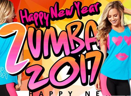 Happy 2017 zumba lovers !!!!!