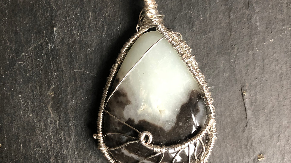 Wire Wrapped Gemstone
