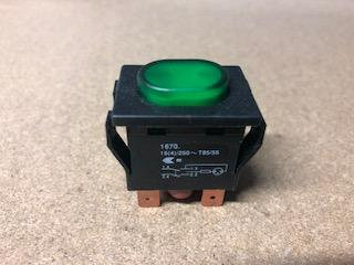 Haygain Ein/Aus Schalter grün (Ersatzteile)