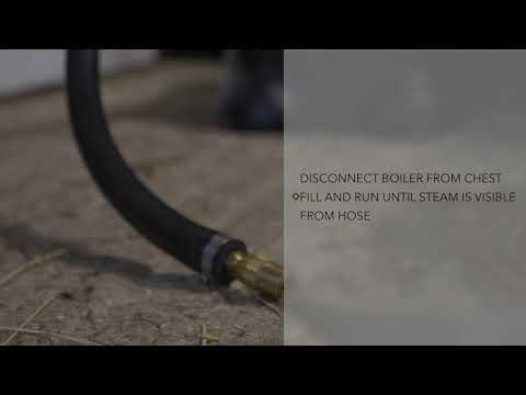 Haygain Thermoschlauch für HG One Jiffy Boiler (Ersatzteil)