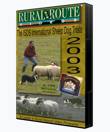 2003 ISDS International Sheep Dog Trials