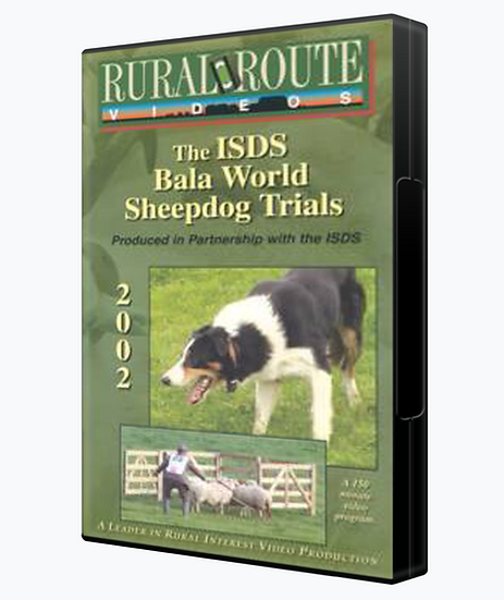 2002 ISDS Bala World Sheepdog Trials