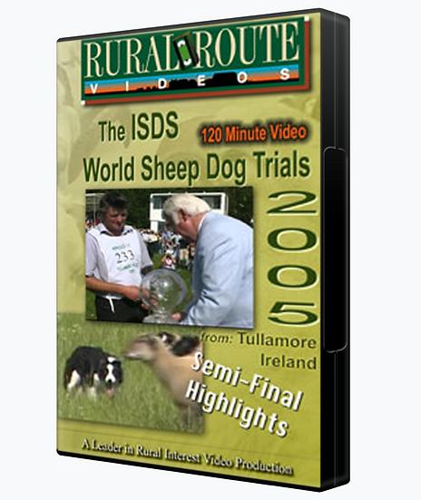 2005 ISDS World Sheep Dog Trials Semi-Final Highlights