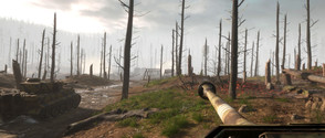 Free, royalty-free Hurtgen Forest (Hürtgen) In-game screenshots from Hell Let Loose (free to use and optimized for the Web)