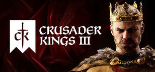 Crusader Kings 3 PC gaming Graphic on the HLLTC (Hell Let Loose Training Camp) Webite.