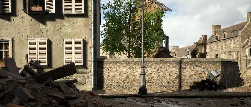 Free In-game Screenshots from Carentan on Hell Let Loose (no HUD)