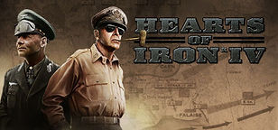 "HOI4 (""Heart of Iron 4"") PC gaming Graphic on the HLLTC (Hell Let Loose Training Camp) Webite."