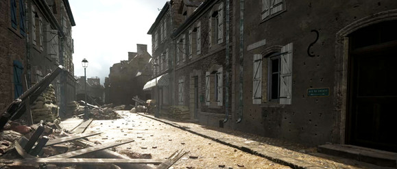 In-game Screenshot from Carentan on Hell Let Loose