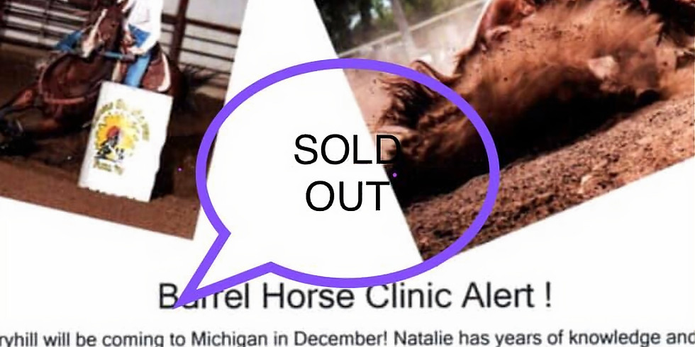 Clinic with Natalie Berryhill Futurity Trainer