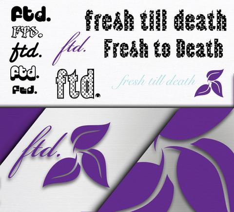 Fresh Till Death Logo Design