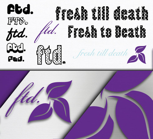 Fresh Till Death Logo Design